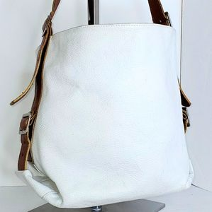 Cristina Italy Pell Leather Satchel Shoulder Hobo